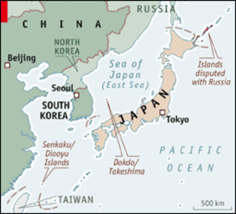 the territorial disputes between japan and N an email interview, min gyo koo, an expert in east asian island disputes at seoul national university, discussed the territorial dispute between japan and south korea.