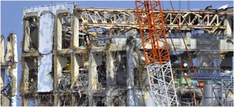 Reactor # 4 at Fukushima Daiichi