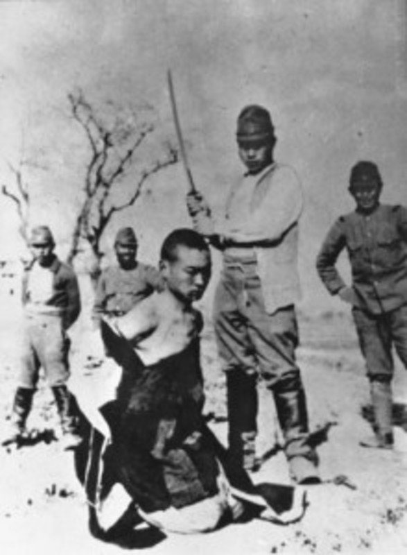 Zen as a Cult of Death in the Wartime Writings of D. T. Suzuki 9-Chinese_beheaded_in_Nanking
