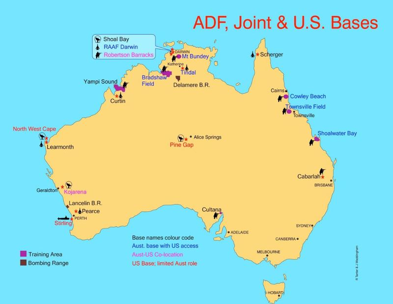 The US Military Presence in Australia The AsiaPacific Pivot and