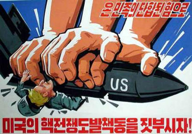 the menace of nuclear war North korea and the us have been seemingly on the brink iof nuclear war in recent times, and president donald trump recently labelled the hermit kingdom a menace threatening the world with nuclear devastation during a speech in seoul this week.