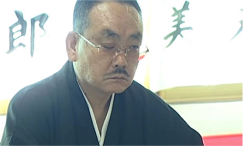 Kōdō-kai chairman Takayama Kiyoshi reputedly lost his right eye in a youthful knife-fight