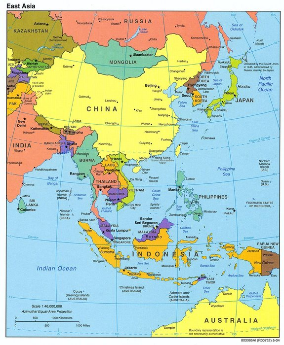the influence of the large economic downturn in east asia Any move toward greater conflict in the middle east or asia could have serious economic consequences: from soaring oil prices to market panic to interruptions in global trade.
