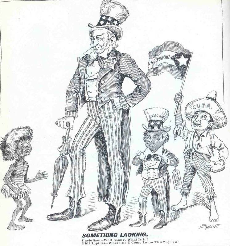 the imperialist propaganda in the philippines by the united states United states on other countries from the philippines to puerto rico how did american imperialism begin-the united states was founded on imperialism: ever since columbus discovered america american propaganda after the sinking of the uss maine.