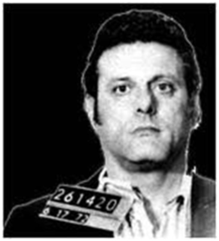 Mug shot of Frank Sturgis