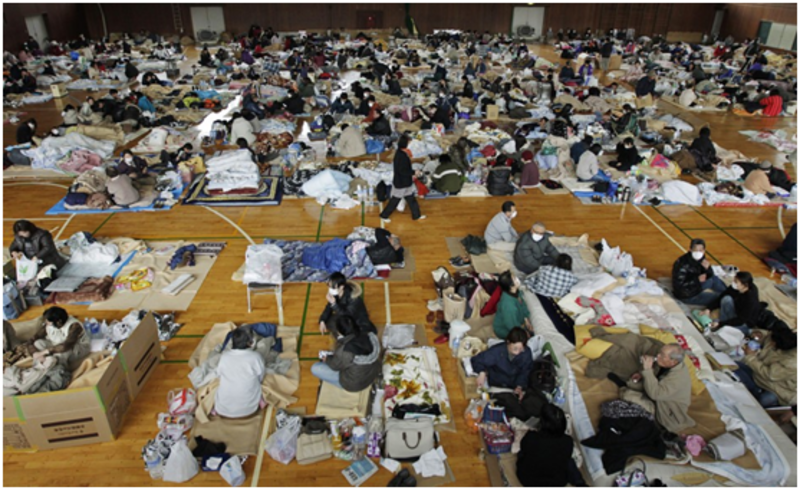 Evacuation center