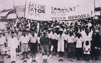 Pro-Independence Rally, August 1945-JapanFocus