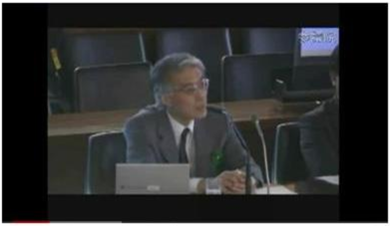 koide speaking oversight committee - The Truth About Nuclear Power: