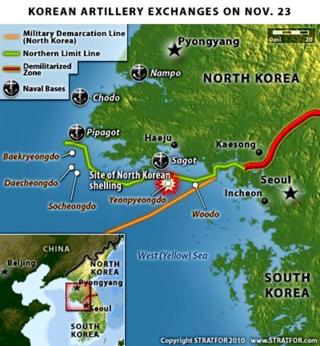 North Korea Building Island